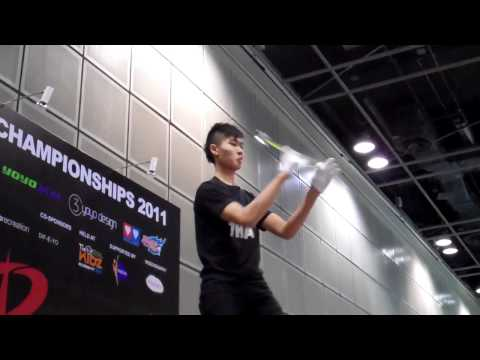 Christopher Chia 1st place 1A Asia Pacific yoyo co...