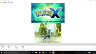 Pokemon X and Y in PC using CITRA 2017 [voice tutorial] 100% working fixed