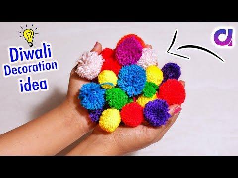 Very Amazing Diwali Decoration Idea From Waste materials | Diwali 2019 | Artkala