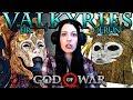 GOD OF WAR Walkthrough Part 22 - The Valkyries are Gitting GUUUUDDDD (God of War 4)
