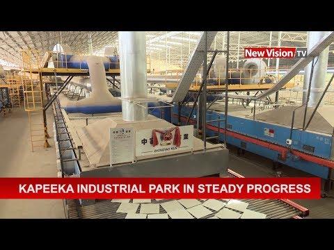 Kapeeka industrial park in steady progress