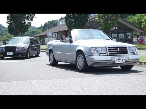 Crazy Mercedes W124 Chiba Touring