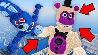 �������� ���� Minecraft Five Nights at Freddy's | GIGA Funtime Freddy vs Toy Bonnie! (FNAF vs Superheroes) ������