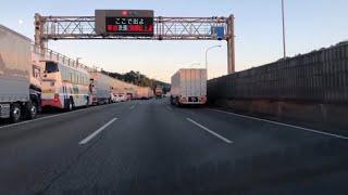 車載動画(HD 60p) E1A 新東名高速道路 駿河湾沼津SA→E1 東名高速道路 [5-1]秦野中井IC 2017 11/1