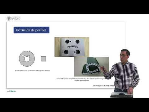 Extrusión de materiales poliméricos      UPV