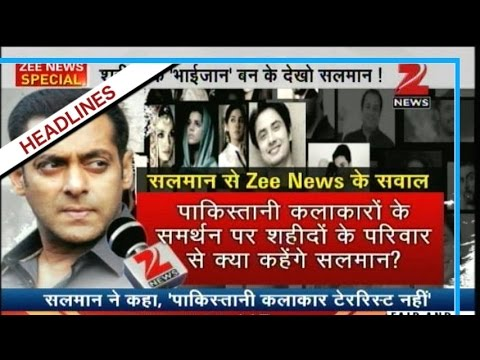 Salman Khan supported the Pakistan actors to work in India