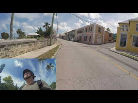 Driving in Bermuda, Tourist on a Scooter - Day 1