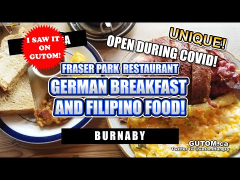 BEST BREAKFAST! FRASER PARK RESTAURANT GERMAN FILIPINO DINER BURNABY | VANCOUVER FOOD AND TRAVEL
