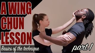 A Wing Chun lesson: Basics of the technique