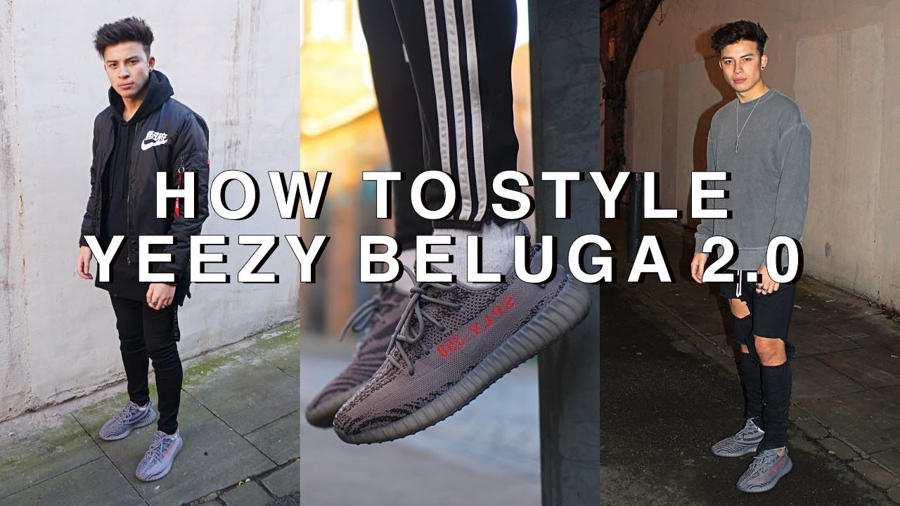 How to Style Yeezy V2s | Beluga 2.0 - YouTube