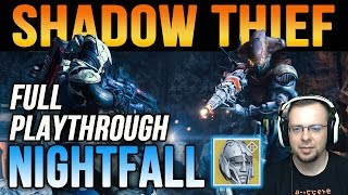 Destiny The Shadow Thief Nightfall Strike & Eternal Warrior Helm Drop House of Wolves Expansion II