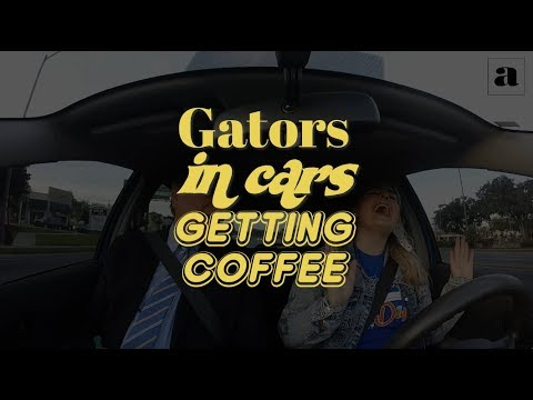 Gators in Cars Getting Coffee with UF President Kent Fuchs