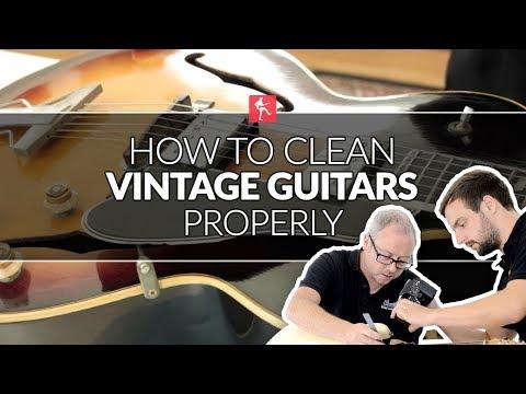 how-to-clean-vintage-guitars---guitar-maintenance-lesson