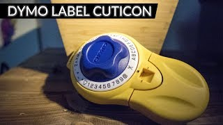 アナログ感満載のDYMO LABEL CUTICONを購入しましたので そちらのご紹介...