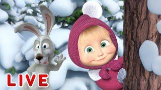 Masha e o Urso - Animações de inverno ⛄ Todos os episód...