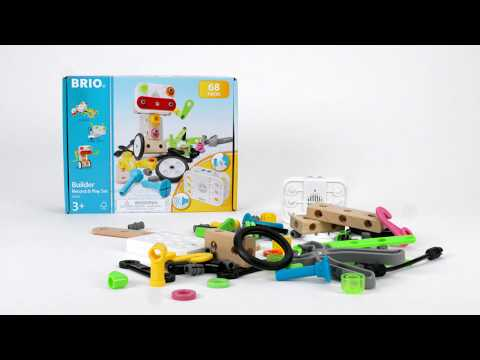 BRIO Builder - 34592 Builder Record & Play Set