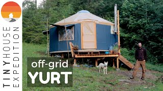 Off-grid Yurt Living In Pnw With Clever & Frugal Diy Hacks