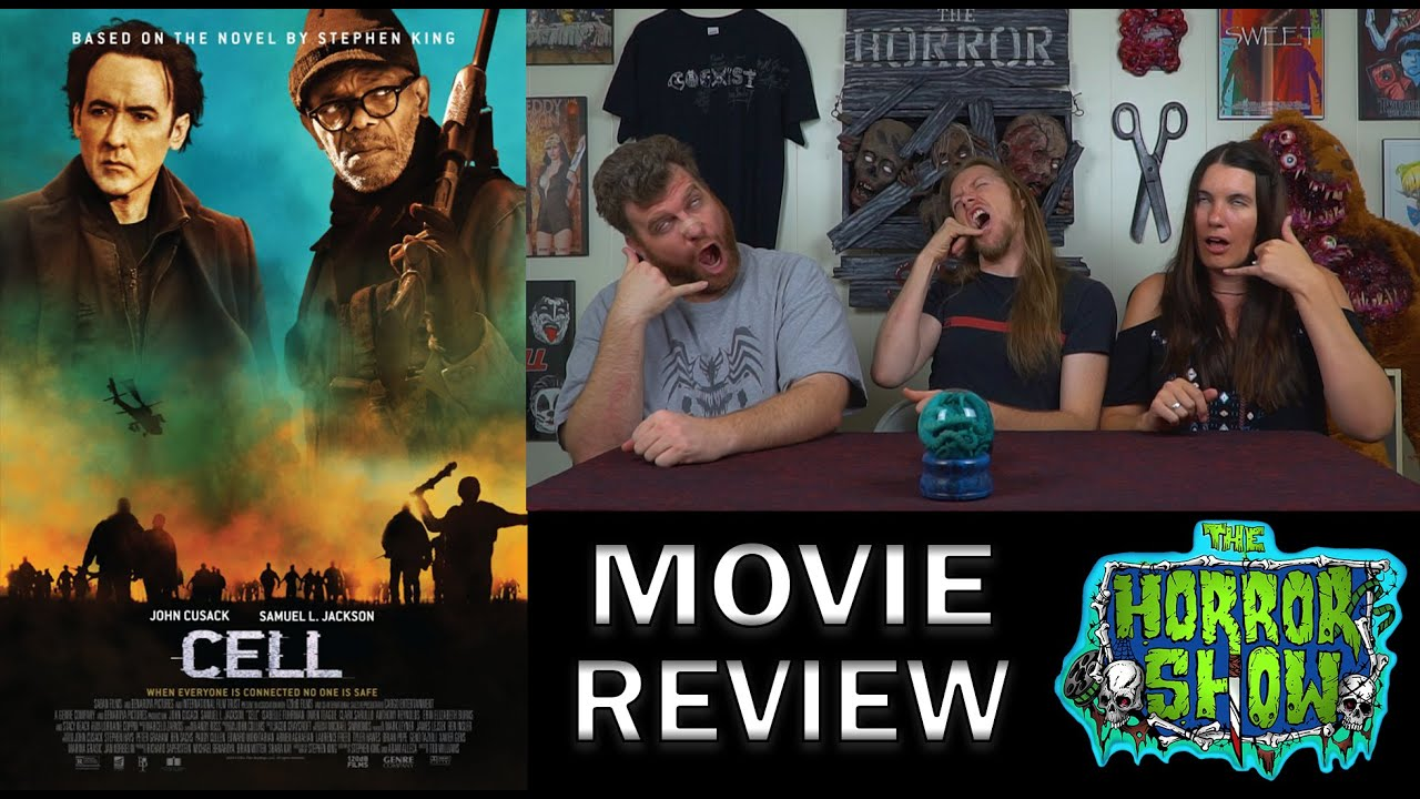 quotcellquot 2016 horror movie review the horror show youtube
