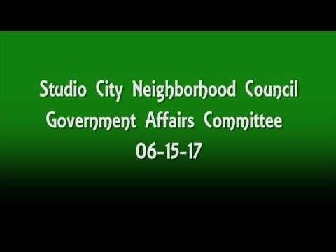 SCNC Government Affairs Committee Meeting_06-15-17_