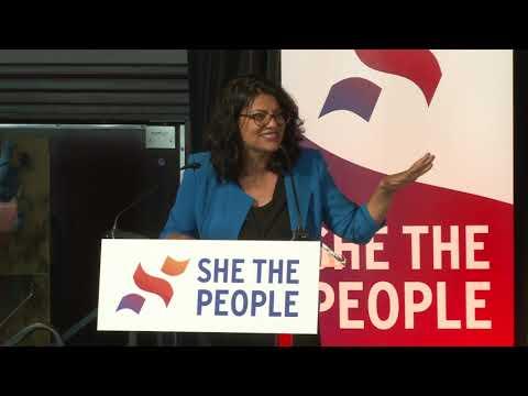 Rashida Tlaib at She the People