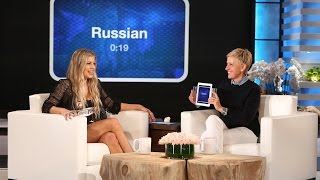 Ellen and Fergie Play 'Heads Up!'