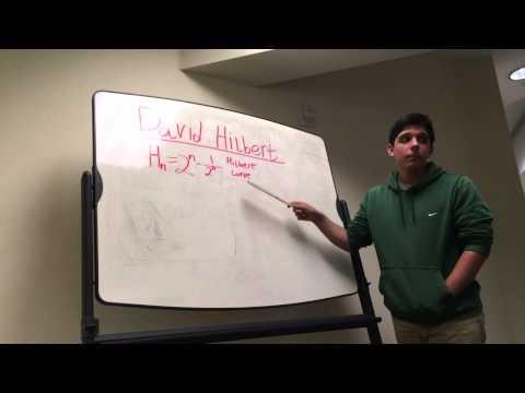 David Hilbert: Stop-Motion Video