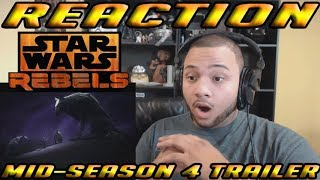 Star Wars Rebels Mid-Season 4 Trailer (Official) - REACTION!!