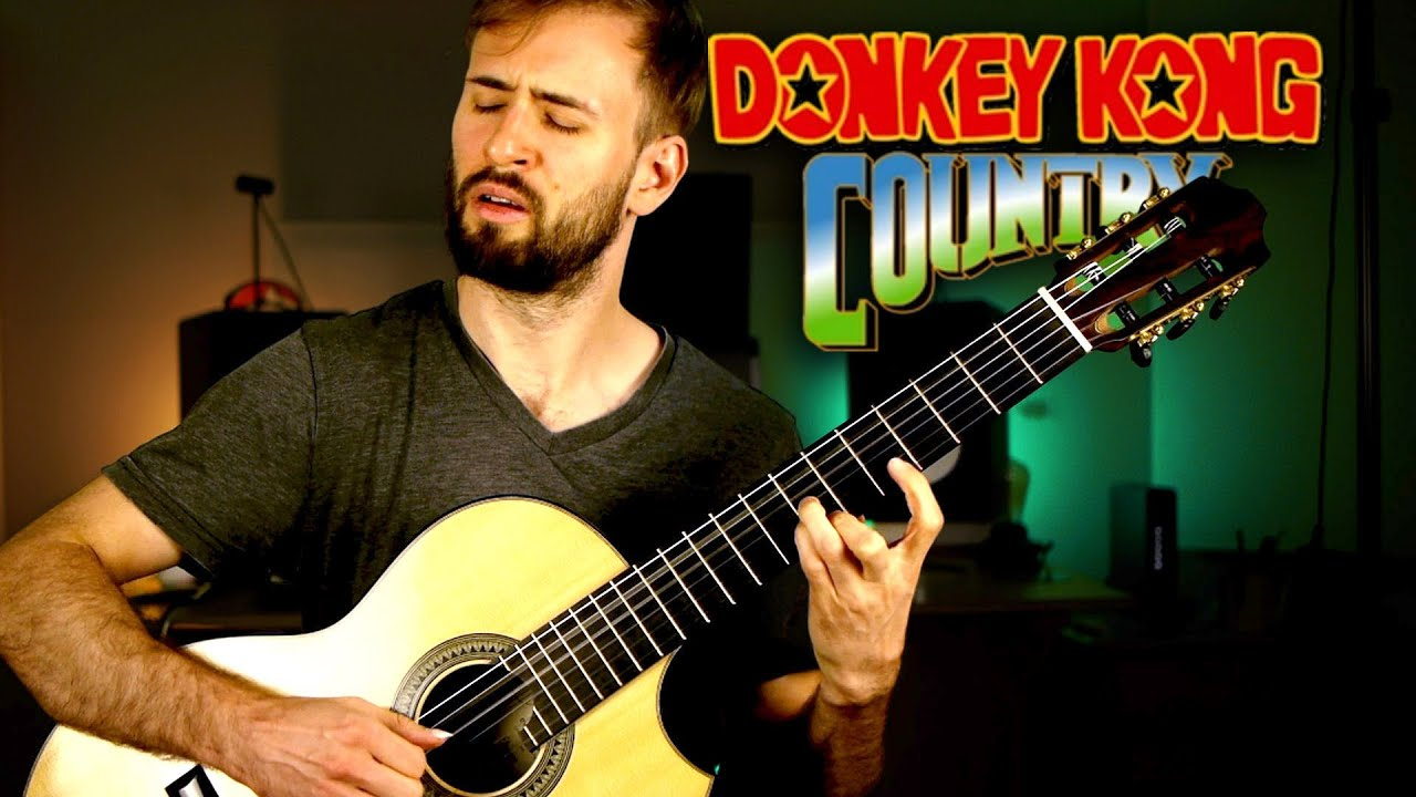 Simian Segue from DONKEY KONG COUNTRY on GUITAR