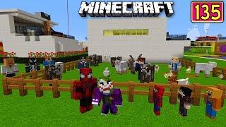 ÖRÜMCEK BEBEK ŞEKER TOPLUYOR - Örümcek Köyünde Kurban Bayramı Minecraft Maceraları 135