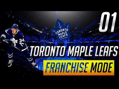 NHL 18 FRANCHISE - TORONTO MAPLE LEAFS - ep.1 Young Guns