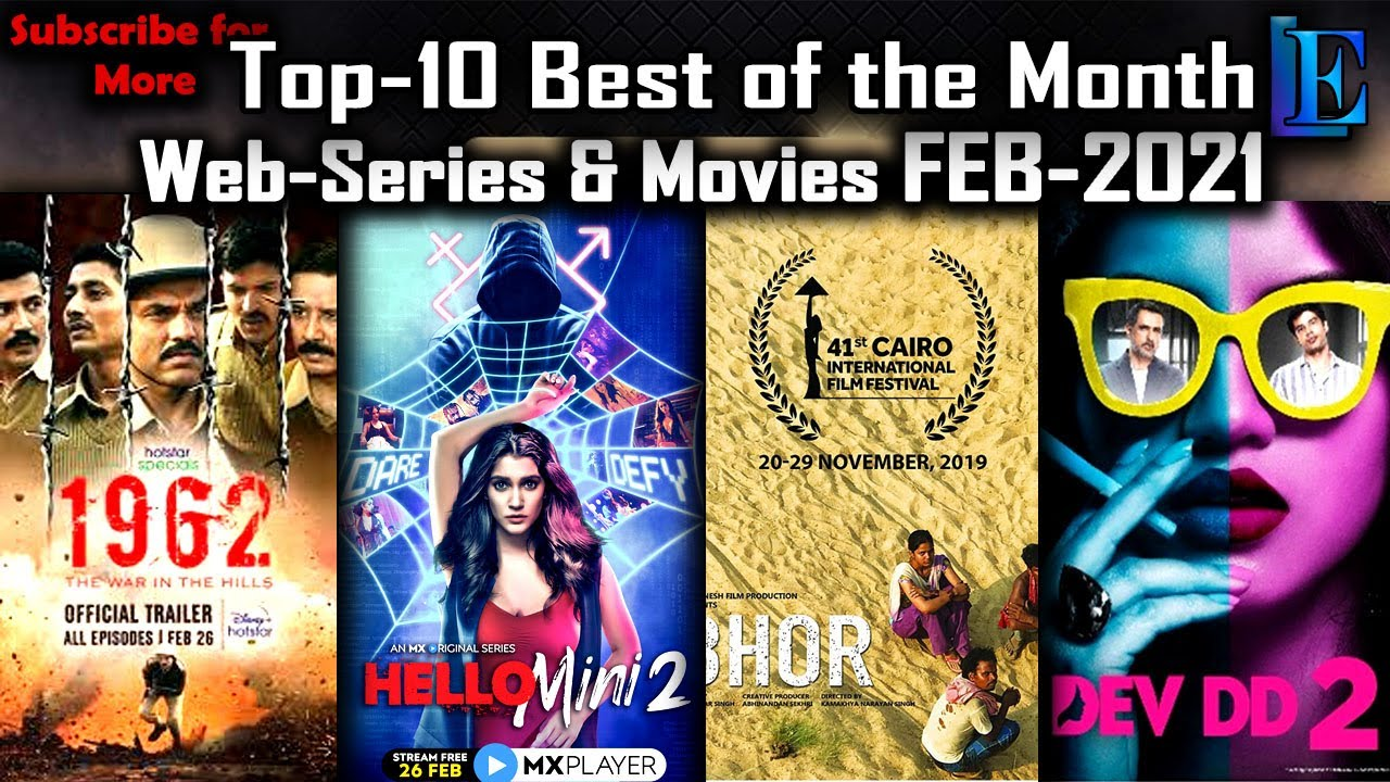 Download Best-10 of FEB-2021 released Web-Series & Movies l After Welcome Home, Mirzapur & Simple Murder