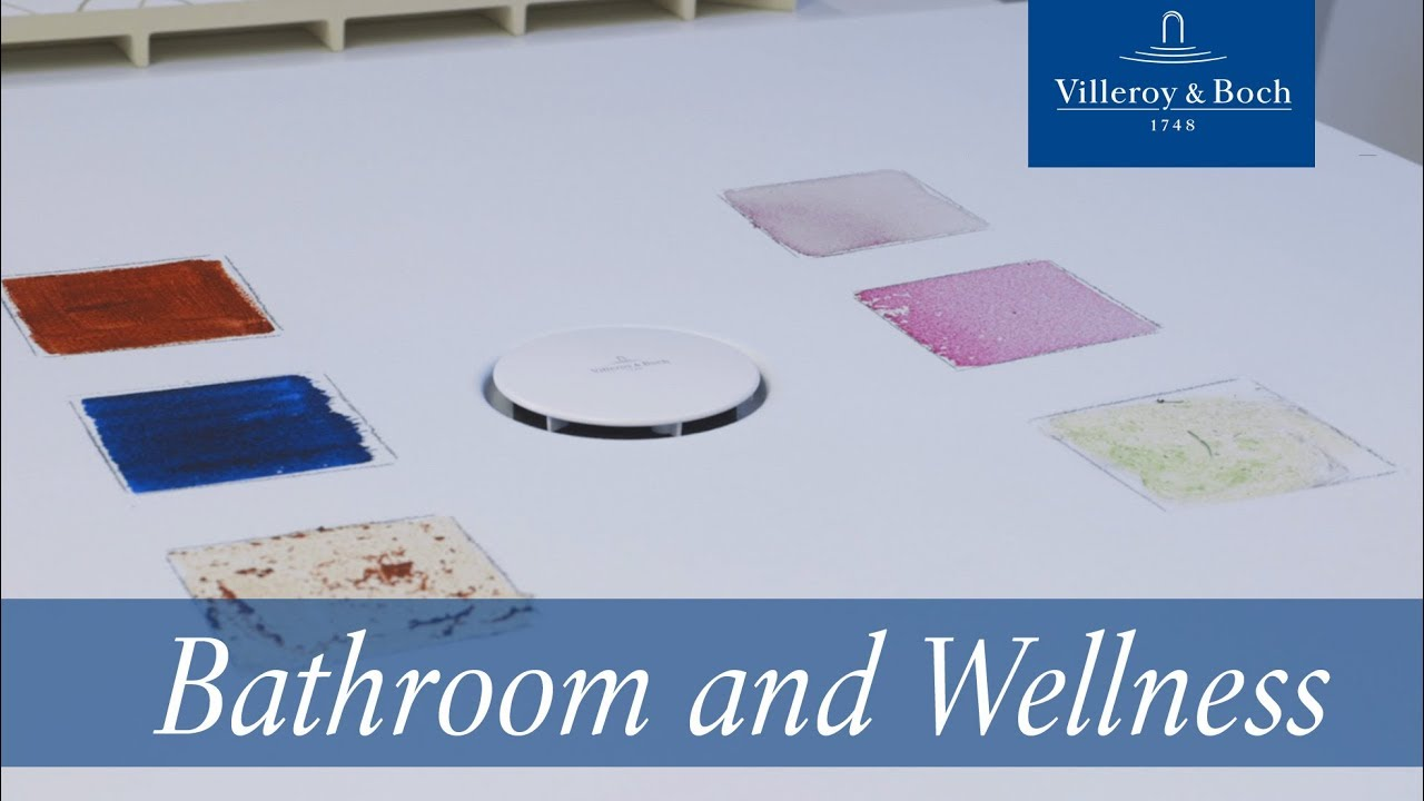 In 60 seconds: How to clean ceramic shower trays | Villeroy & Boch ...