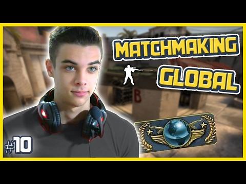 CS:GO | MM na GLOBAL #10 - NA SMURF TÁ MAIS DIFÍCIL QUE AQUI?