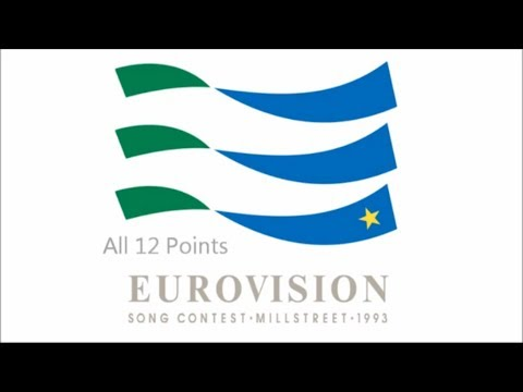 Eurovision 1993 All 12 Points