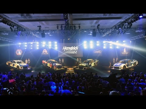 Hendrick Motorsports 2018 Paint Schemes Reveal - Chevy Camaro ZL1