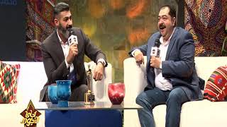 الفنان ياسر جلال والفنان طارق عبد العزيز وتفاصيل خاصة لأول لقاء بينهم في مسلسل رحيم