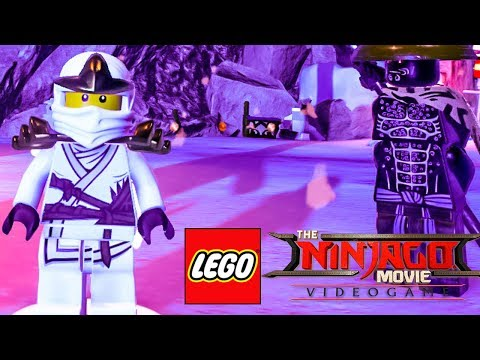 ZANE CLÁSSICO DESBLOQUEADO em The LEGO NINJAGO Movie Video G