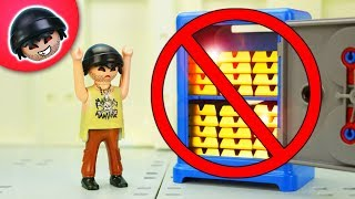Karlchen hat Knackverbot!   Playmobil Polizei Film   KARLCHEN KNACK #306