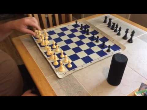 Chess960 setup on Amazon Alexa
