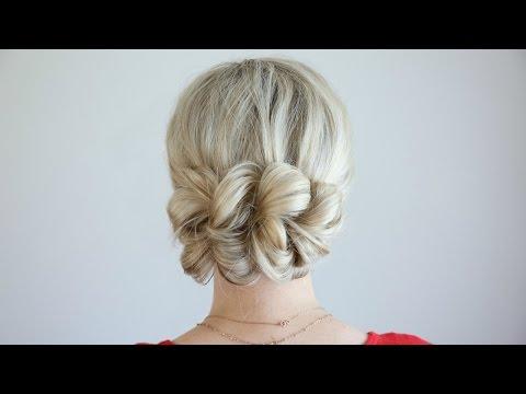 Pull-Thru Updo | Cute Girls Hairstyles