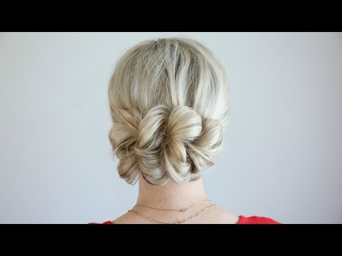 Pull Updo Hairstyles How To