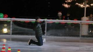 2011.12.24. 하얏트호텔 아이스링크 공연 이동원…
