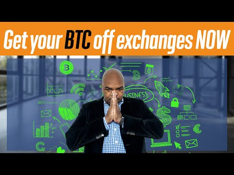 Get Your Bitcoins Off Exchanges NOW!!!