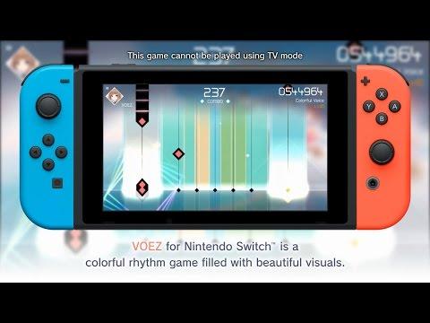 VOEZ(Nintendo Switch) Promotion movie