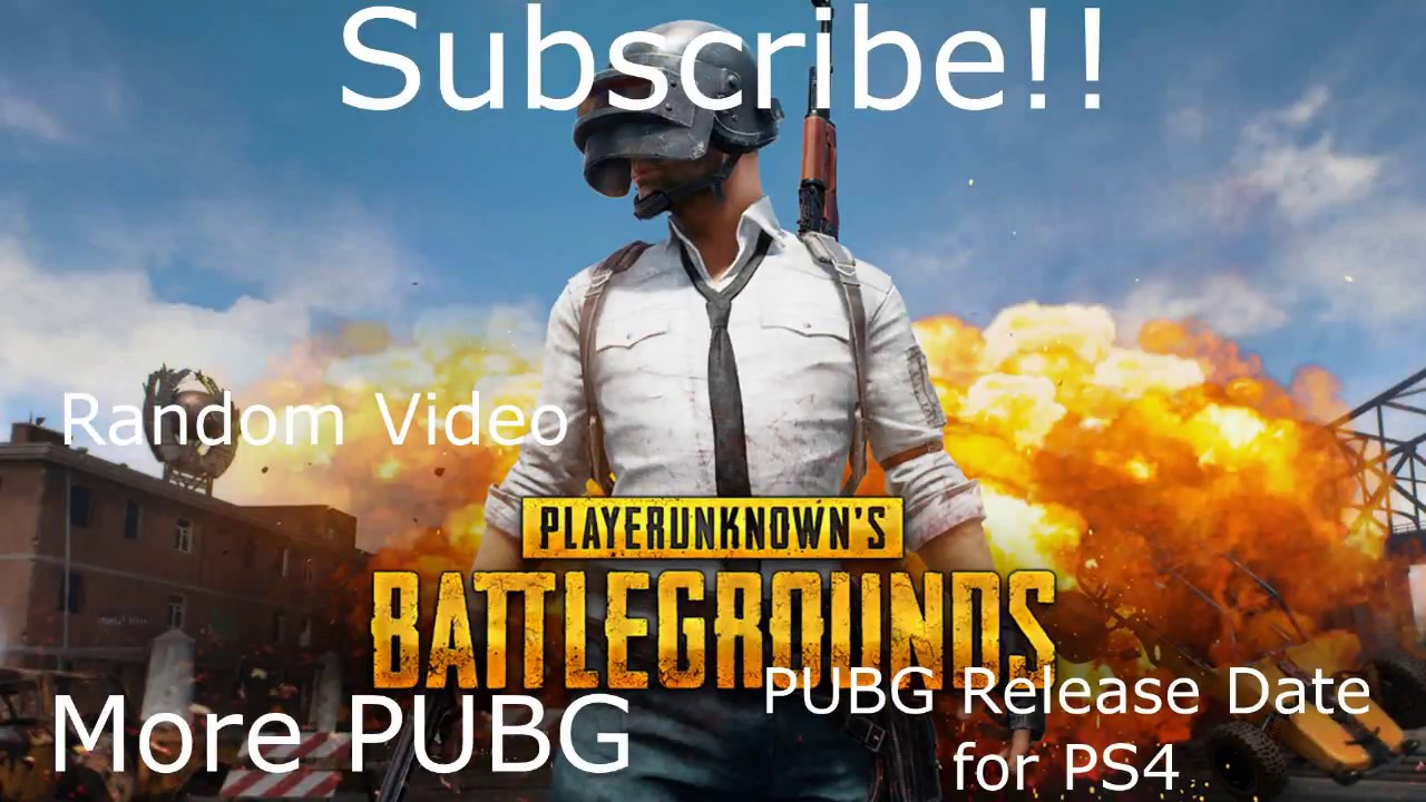 Pubg Ps4 Release Date Coming Soon Youtube