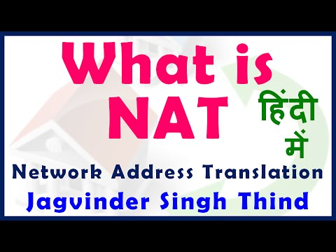 What is NAT in Hindi (Network Address Translation) - NAT PAT - Part 1