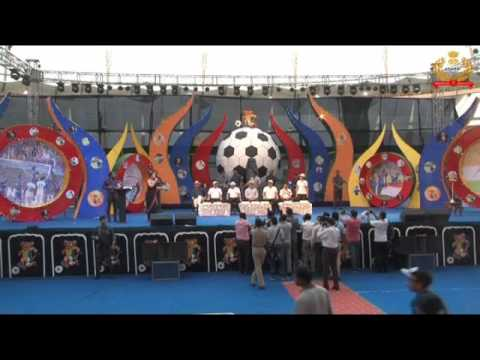 Opening Ceremony of Oorja u19 Football tournament in Delhi Organised by CISF
