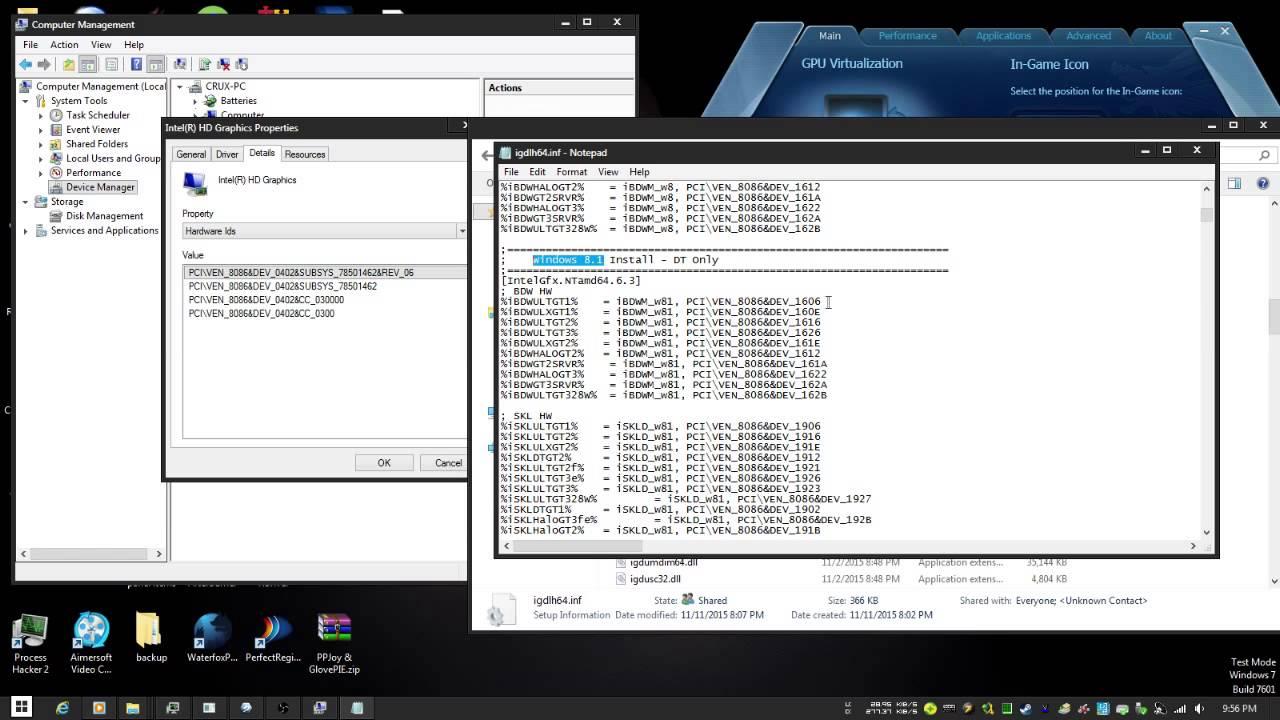 Intel 915 driver youtube.