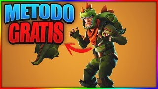 COMMENT OBTENIR LE 'REX' SKIN Free IN FORTNITE: Battle Royale! MÉTHODE PAVO GRATUIT!