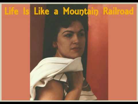 PATSY CLINE - Life Is Like a Mountain Railroad (With Willie Nelson)